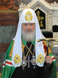 His Holiness Patriarch of Moscow and all Russia Kirill
