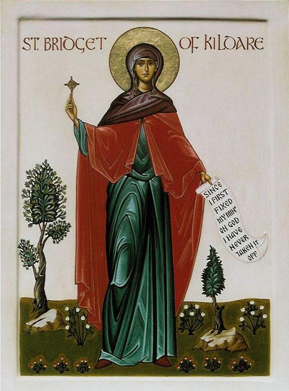 Последователи святой Бригитты основали обители по всей Ирландии.