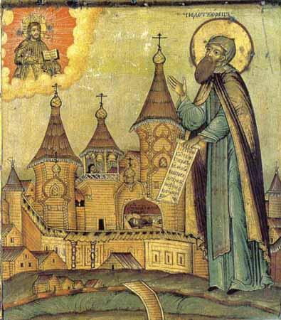 Venerable  Alexander  (Oshevensky), abbot, near Onega Lake (1479).