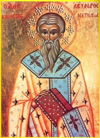 Sts.  Alexander  (340),  John  (595), and  Paul  the New (784), patriarchs of Constantinople.