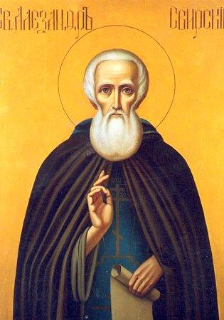 Repose of Venerable  Alexander , abbot of Svir (1533).