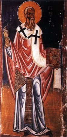Hieromartyr  Cyprian , bishop of Carthage (258).