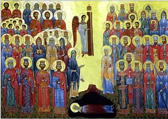 All Saints of Georgia (Georgia).