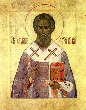 St. Germanus , patriarch of Constantinople (740).