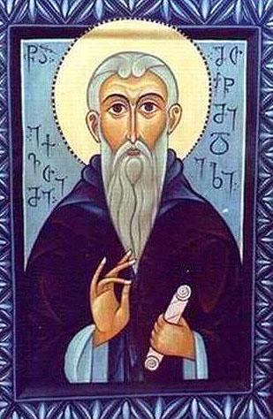 Venerable  Euthymius  of Athos the translator (1028) ( Georgia ).