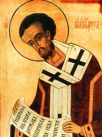 St. John  Chrysostom, archbishop of Constantinople (407).